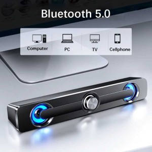 Harga sada bluetooth soundbar home theater hifi stereo heavy speaker | HARGALOKA.COM