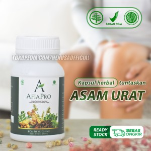 Harga afiapro obat herbal asam urat super premium asli manjur   HARGALOKA.COM