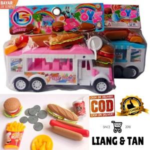 Harga Mainan Anak Perempuan Food Truck Barbie 7887 Katalog.or.id
