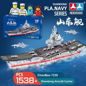 Harga lego bricks kapal induk besar navy series kapal laut chaobao   HARGALOKA.COM