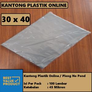 Harga Kantong Plastik Hd Bungkus Tebal Tanpa Plong Packing Online Shop 30x40 Katalog.or.id