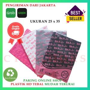 Harga kantong plastik hd bungkus tebal tanpa plong packing online shop 25x35     HARGALOKA.COM