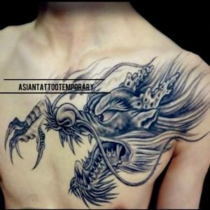 Harga big size tatto temporer stiker tato original tattoo temporary   bre    HARGALOKA.COM