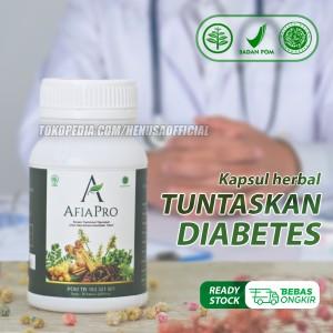 Harga afiapro obat diabetes ampuh herbal penurun gula darah alami | HARGALOKA.COM