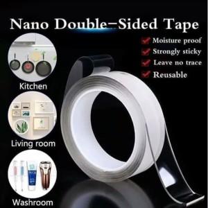 Harga magic nano tape tebal 1mm panjang 1m lebar 30mm | HARGALOKA.COM