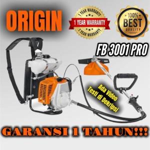 Harga mesin potong rumput gendong origin brush cutter model fr 3001 | HARGALOKA.COM