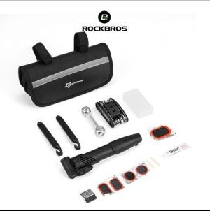 Harga multifungsi tool kits sepeda rockbros gj9816 original plus | HARGALOKA.COM