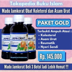 Harga madu jamkorat obat kolestrol dan asam urat   madu asam urat   HARGALOKA.COM