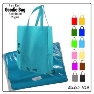 Harga uk 38x45 cm tas jinjing kain spunbond polos lusin goodie tote bag   bebas apa | HARGALOKA.COM
