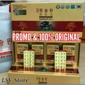 Harga promo redpine korea paket 2 bulan isi 120 caps xtra red pine 10 | HARGALOKA.COM