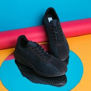 Harga sepatu sneakers koketo york denim hitam sol hitam original   denim   HARGALOKA.COM
