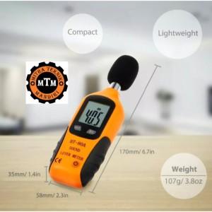 Harga alat ukur digital sound noise level meter ht80a ht 80a | HARGALOKA.COM