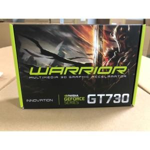 Harga vga innovation gt 730 2gb ddr3 warrior 128 | HARGALOKA.COM