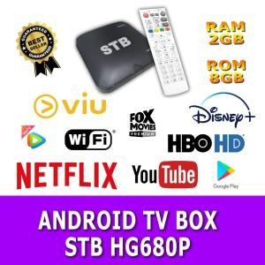 Harga stb tvbox android hg680p hg680 second ram 2gb rom 8gb root unlock   fullset fullset | HARGALOKA.COM