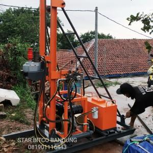 Harga alat bor sumur air tanah mesin hidrolik   HARGALOKA.COM