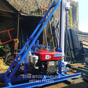Harga alat bor sumur air mesin hidrolik 60   HARGALOKA.COM