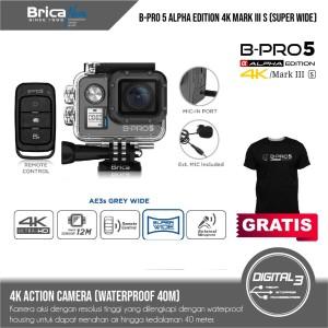 Harga brica b pro 5 alpha edition 4k mark iii s ae3s   grey wide | HARGALOKA.COM