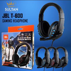 Harga hf headset headphone handsfree earphone gaming pc musik jbl t600   HARGALOKA.COM