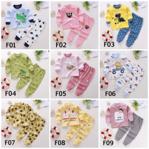 Harga piyama baju tidur anak cewek cowok size 0 6 tahun   f01   HARGALOKA.COM