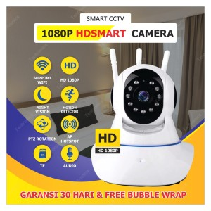 Harga ip camera 1080p yoosee cam cctv 3 antena wireless kamera antenna | HARGALOKA.COM