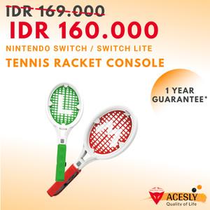 Harga sound fox set raket sensor untuk game tenis console nintendo | HARGALOKA.COM