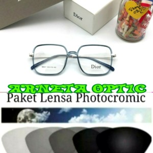 Harga kacamata minus pria amp wanita 98007 gratis lensa | HARGALOKA.COM