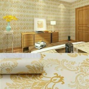 Harga wallpaper sticker motif batik uk 45cm x 10m   | HARGALOKA.COM