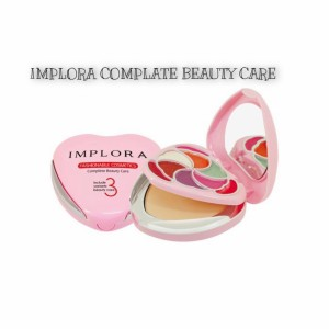 Harga implora complete beauty care bedak eyeshadow lipstik implora 3 in | HARGALOKA.COM