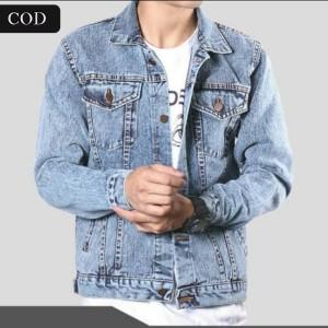 Harga jaket jeans denim pria dewasa snow bio blitz murah berkualitas   snow bio blitz | HARGALOKA.COM