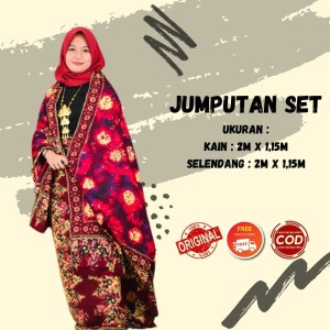 Harga kain batik jumputan khas palembang kombinasi | HARGALOKA.COM