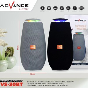 Harga speaker bluetooth mp3 advance vs | HARGALOKA.COM
