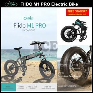 Harga fiido m1 pro electric bike fat tire 20 inch 7 speeds 40km h | HARGALOKA.COM