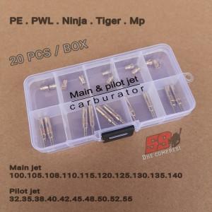 Harga paket main jet dan pilot jet karbu pe pwl mp tiger per | HARGALOKA.COM