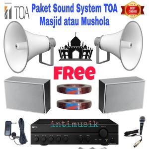 Harga sound system paket speaker toa masjid   HARGALOKA.COM
