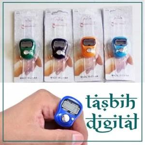 Harga tasbih digital tasbih digital mini finger penghitung tally | HARGALOKA.COM
