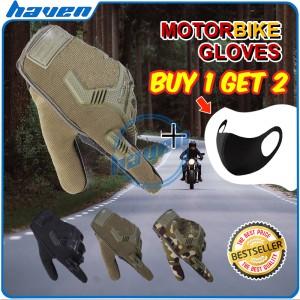 Harga sarung tangan motor cross trail touring riding glove full finger     HARGALOKA.COM
