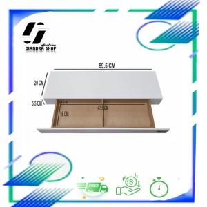 Harga 40x15x4cm Rak Dinding Ambalan Melayang Floating Shelf Merk Kinbar A404 Katalog.or.id