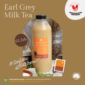 Harga earl grey milk tea   kemasan 1 liter   sahabat di rumah   tea series   250 | HARGALOKA.COM