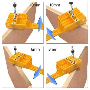 Harga dowel jig dowelling tools alat bantu bor lubang dowel penyambungan     HARGALOKA.COM