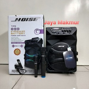 Harga speaker portable amplifier wireless noise 899 c bluetooth 8 | HARGALOKA.COM