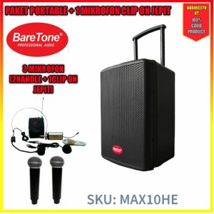 Harga portable max 10he baretone | HARGALOKA.COM
