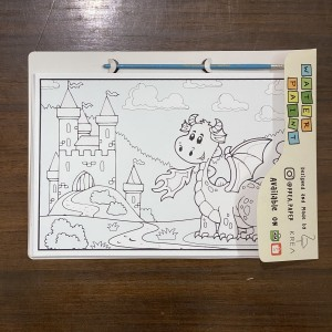 Harga water paint magical pages by krea paper   farm and jungle animals | HARGALOKA.COM