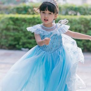 Harga lea frozen anna elsa terbaru disney princess kostum impor dress baju p   | HARGALOKA.COM