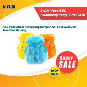 Harga 0333 swim vest abc pelampung rompi anak sz m jaket ban renang   | HARGALOKA.COM