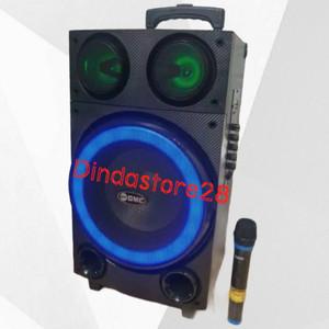 Harga speaker portable bluetooth gmc 897l 10 inch | HARGALOKA.COM