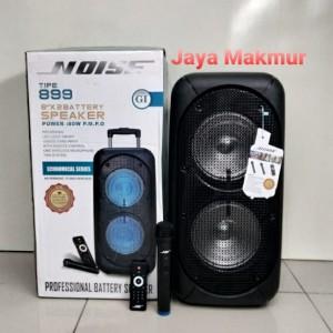 Harga speaker portable wireless noise 899   gi battery 8x2 inch | HARGALOKA.COM