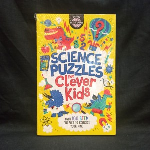 Harga buku import science puzzle for clever kids soft cover original | HARGALOKA.COM