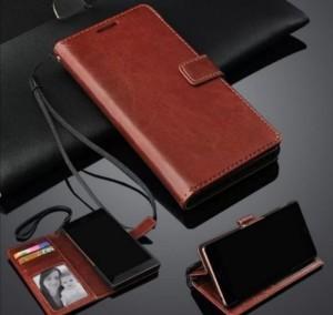 Harga oppo realme 7 pro flip case leather flip cover kulit soft case | HARGALOKA.COM