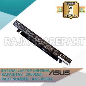 Harga baterai original laptop asus x550 x550j x550jk x550jx | HARGALOKA.COM