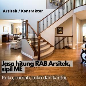 Harga hitung rab sipil arsitek me bangunan rumah toko gudang   HARGALOKA.COM